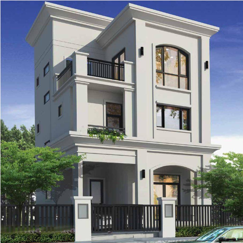 Thiết kế biệt thự đơn lập dự án Senturia Q9 Central Point Tiến Phước Quận 9